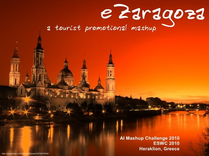 eZaragoza, a tourist promotional mashup
