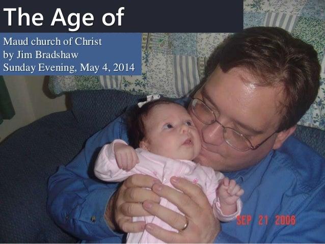 M2014 s34 the age of innocence 5 4-14 sermon