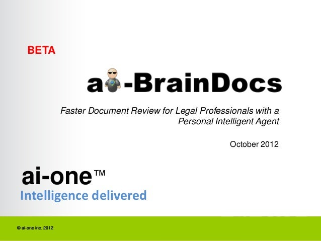 BETA                     Faster Document Review for Legal Professionals with a                                            ...