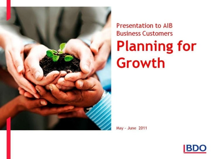 BDO Planning for Growth