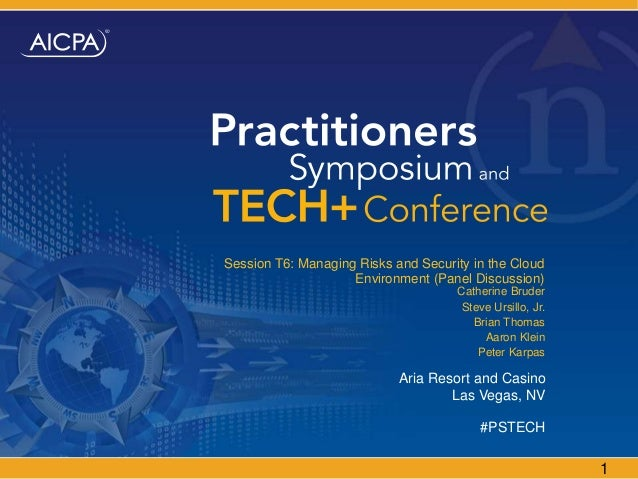 Aicpa tech+panel presentation t6 managing risks and security 2014 v3