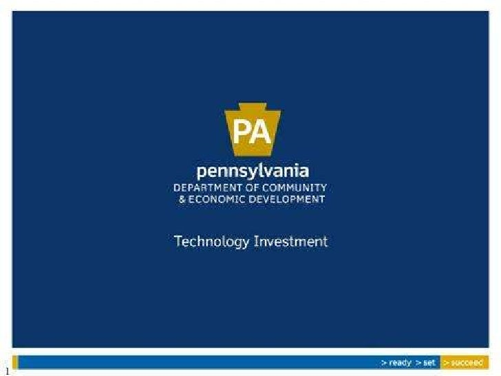 Association of Independent Colleges    Universities of Pennsylvania  Overview of Technology Investment Office             ...