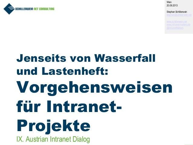 Optimierte Vorgehensweisen für Intranet-Projekte [DE]