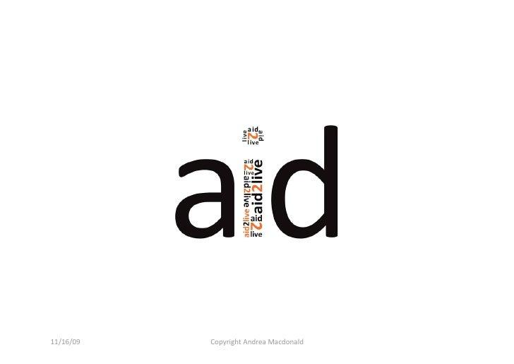Aid2live Presentation