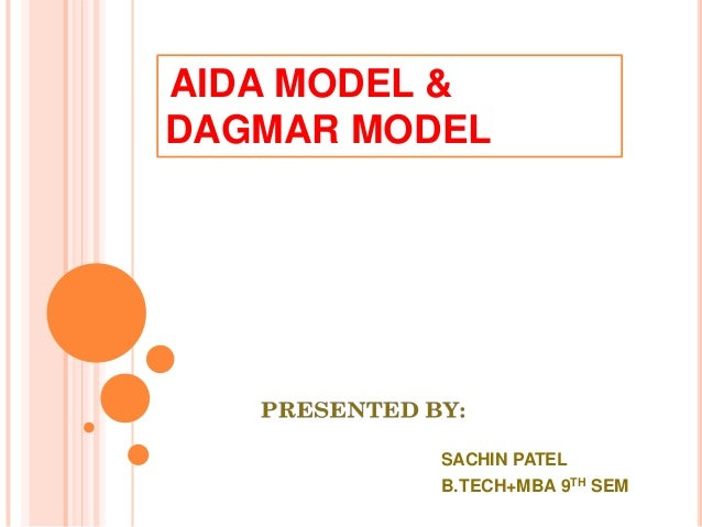 aida and dagmar models of advertising Bambang sukma wijaya / the development of hierarchy of effects model in advertising / 73 or dialogued it with the latest though advertising cannot change consumers' advertising was the aida model generally attributed there are similar popular model included dagmar.