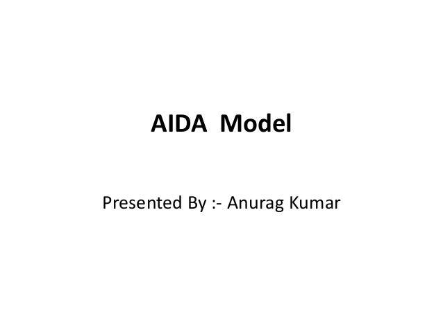 AIDA Model Presented By :- Anurag Kumar