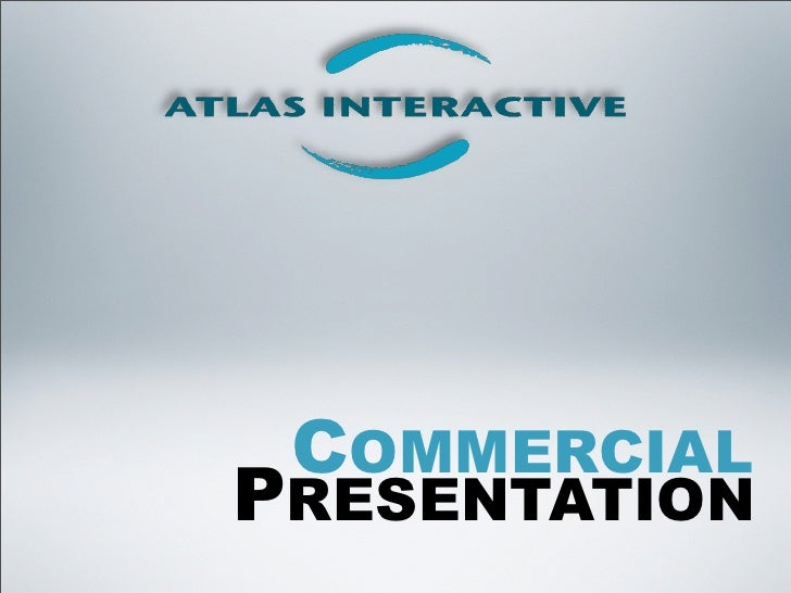 ATLAS Interactive Commercial Presentation
