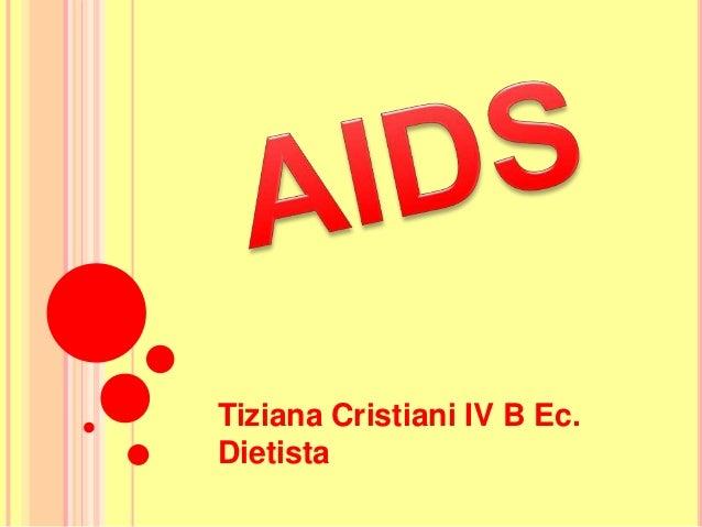 Tiziana Cristiani IV B Ec.Dietista