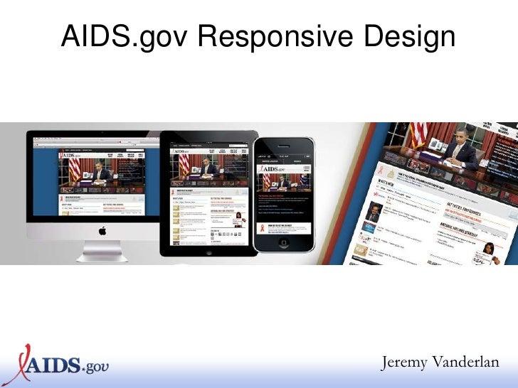 AIDS.gov Responsive Design Webinar