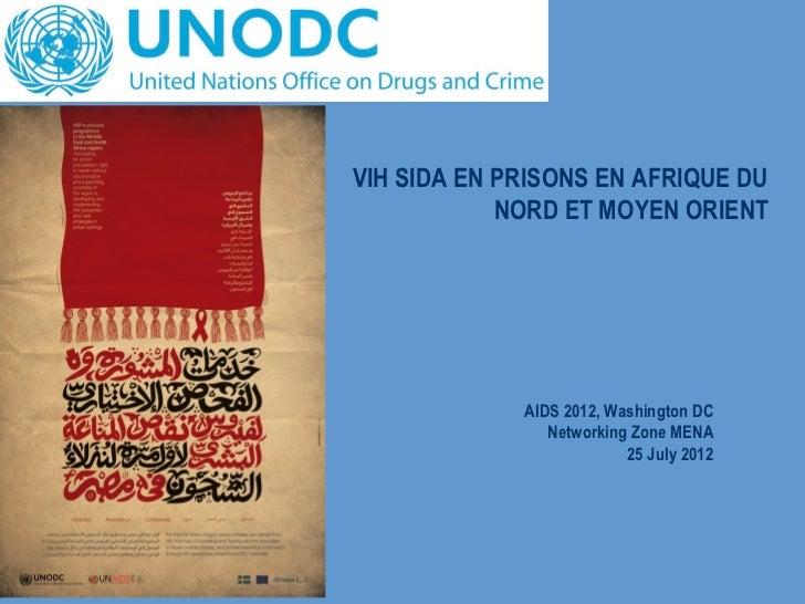 Aids 2012 vih sida en prisons de la région mena