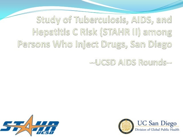 HIV, HCV, and TB Infection among Injection Drug Users in San Diego