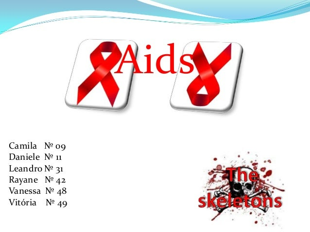 Aids Camila № 09 Daniele № 11 Leandro № 31 Rayane № 42 Vanessa № 48 Vitória № 49