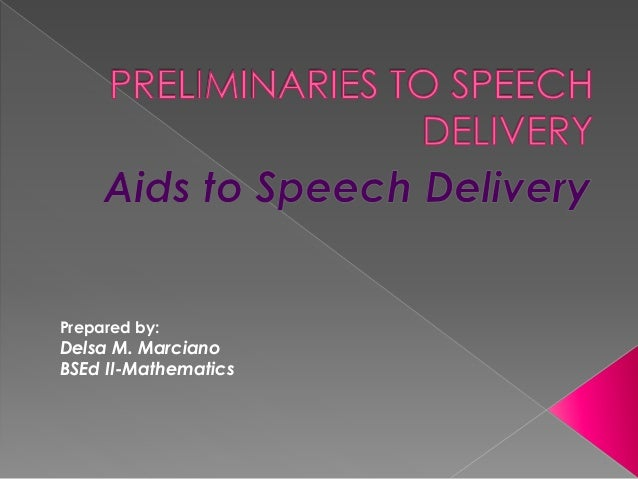 informative speech on aids Presentational aids are items other than the words of a speech that are used to support the intent of the speaker in particular, they can be visual aids, audio aids or other supporting technology visual aids include projectors, physical objects  photographs, diagrams, charts and so on.