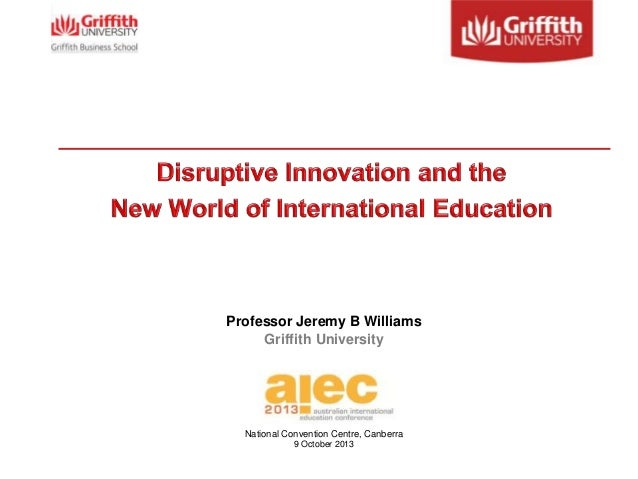 Disruptive innovation and the new world of international for Innovation consulting chicago