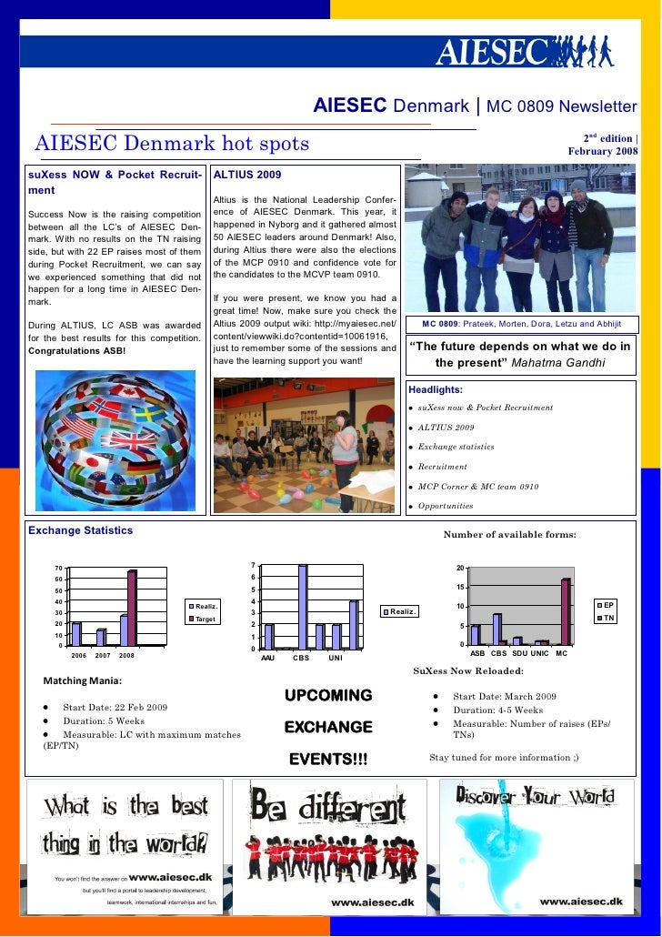 Aiesec Denmark Newsletter Feb09