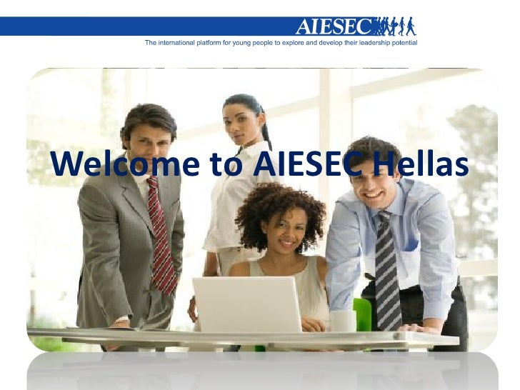 AIESEC presentation on company meetings