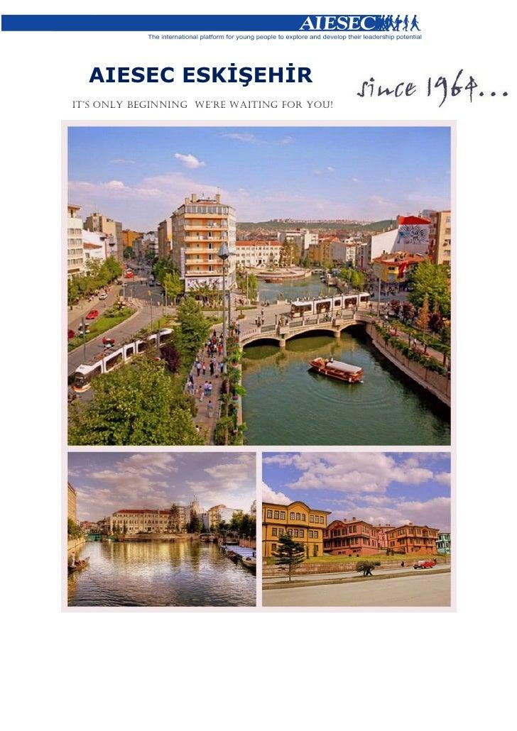 Reception Booklet - AIESEC Eskişehir
