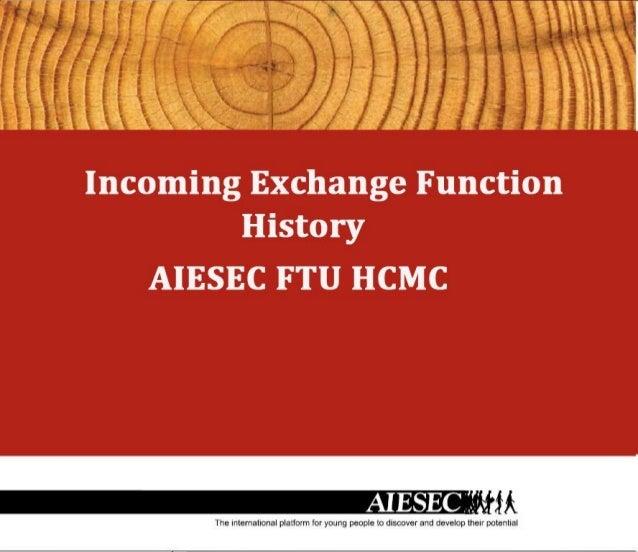 [AIESEC FTU HCMC] ICX HISTORY BOOK