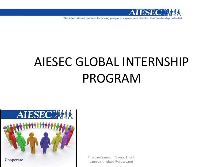 Aiesec Global Internship Program