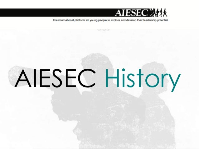 AIESEC history