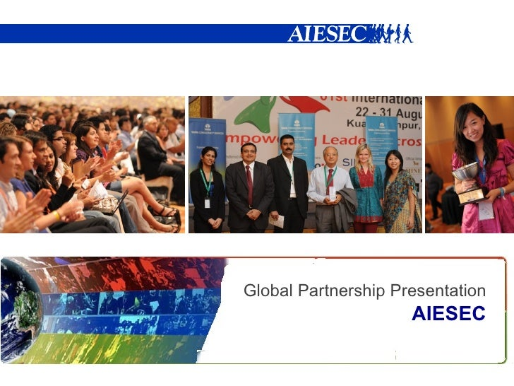 AIESEC - About our GLOBAL PARTNERS