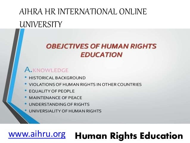 human rights education Human rights and slavery what are human rights  social rights (like rights to education and consenting marriages), cultural rights (including the right to freely .