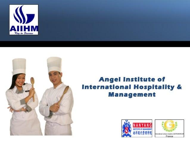 Angel Institute of International Hospitality & Management