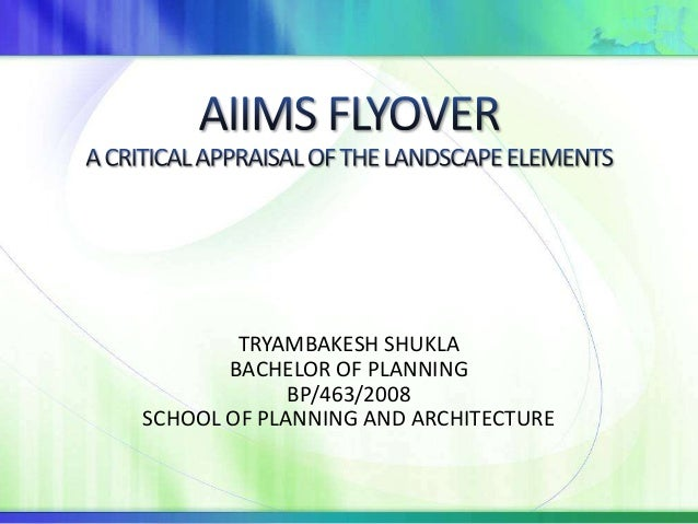 TRYAMBAKESH SHUKLA       BACHELOR OF PLANNING             BP/463/2008SCHOOL OF PLANNING AND ARCHITECTURE
