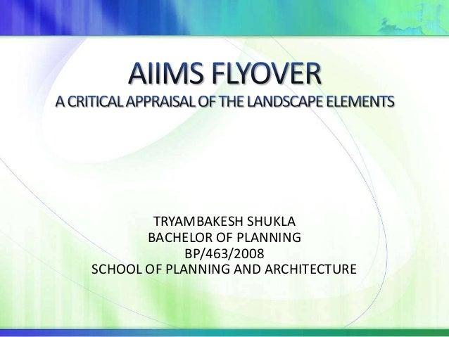 Aiims flyover presentation