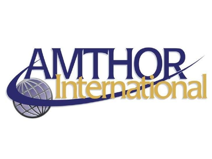 Corporate Headquarters      237 Industrial Drive – Gretna, VA 24557                 (P) 800/328.6633        (W) www.Amthor...