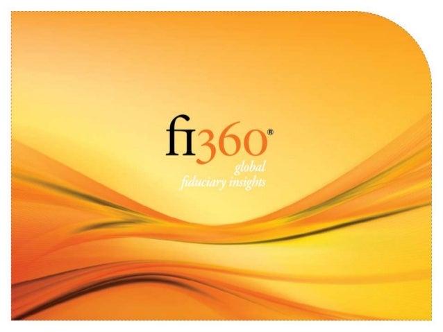 The Fiduciary Standard And Why It Matters Blaine F. Aikin, AIFA®, CFA, CFP® CEO, fi360