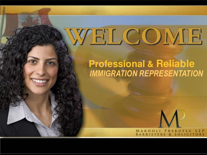 Professional & ReliableIMMIGRATION REPRESENTATION
