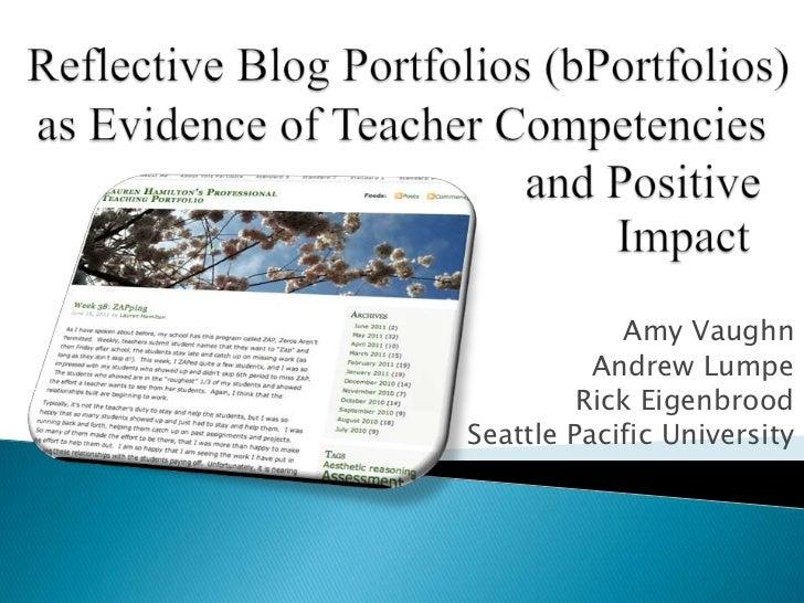 Amy Vaughn          Andrew Lumpe         Rick EigenbroodSeattle Pacific University