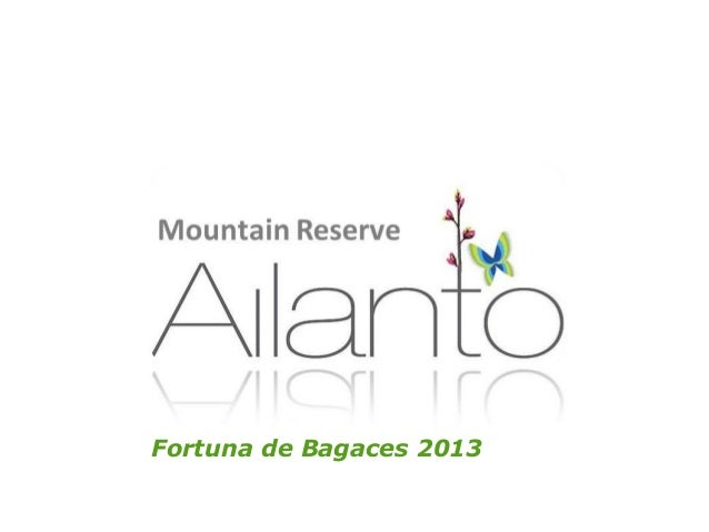 Ailanto 2013 independent living community investment