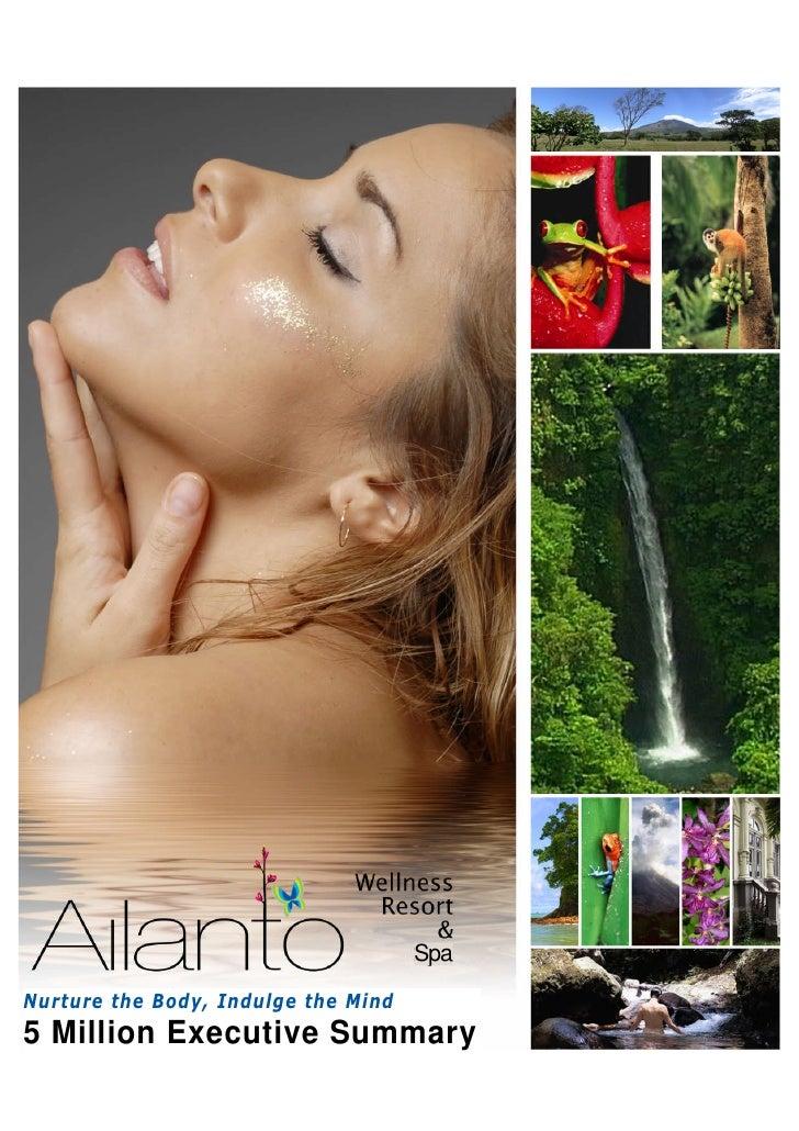 Ailanto Complete Executive Summary 5 M