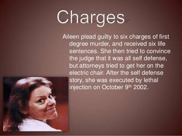 First electric chair victim - Aileen Wuornos