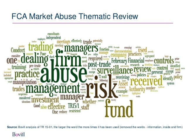 market abuse Market abuse (directive 2003/6/ec) regulations  as the market abuse (directive 2003/6/ec regulations  provisions of irish market abuse law.