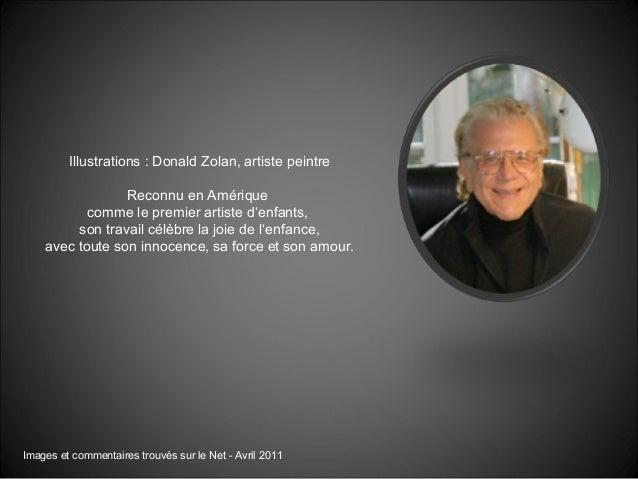 Illustrations : Donald Zolan, artiste peintre Reconnu en Amérique comme le premier artiste d'enfants, son travail célèbre ...