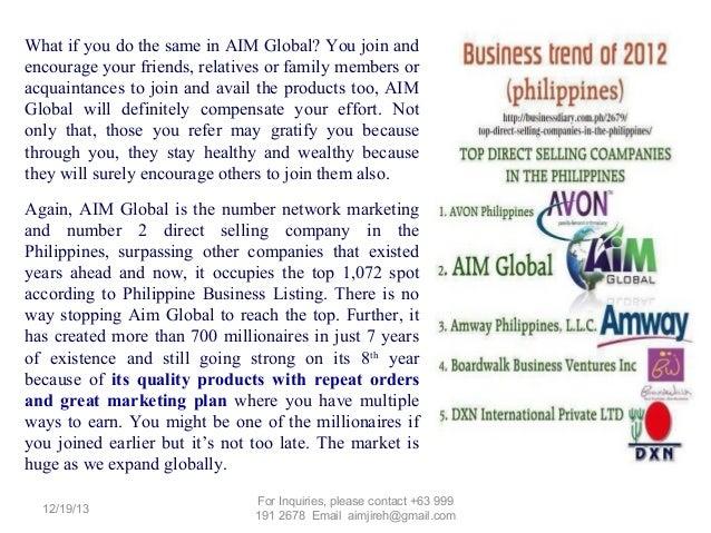 global business marketing plan