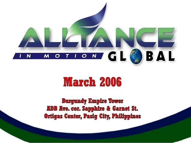 Aimglobal business presentation2