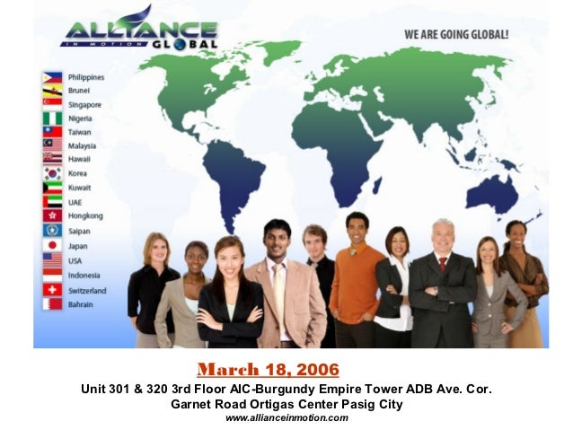 Aim global Product and Marketing Plan OPP