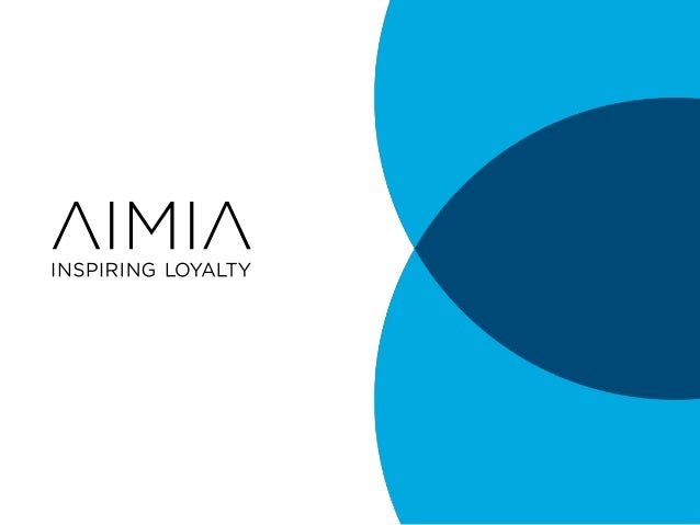 Aimia: The Big Deal About Big Data -- How It Will Transform Pharma Meeting and Event Delivery