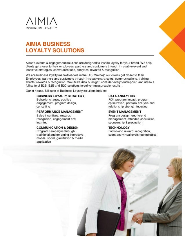 Aimia -- Business Loyalty Credentials -- Auto