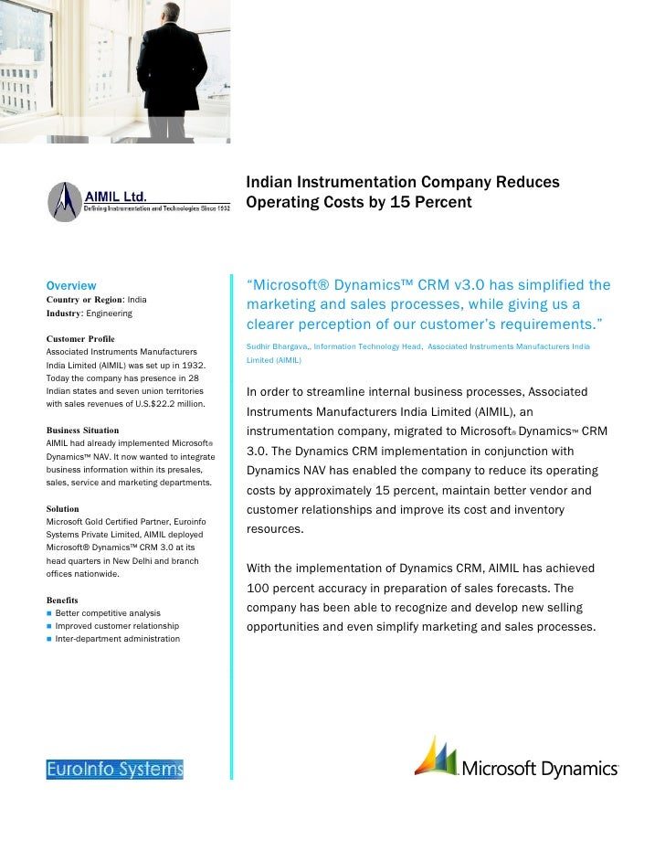 Microsoft India – AIMIL Ltd. Case Study