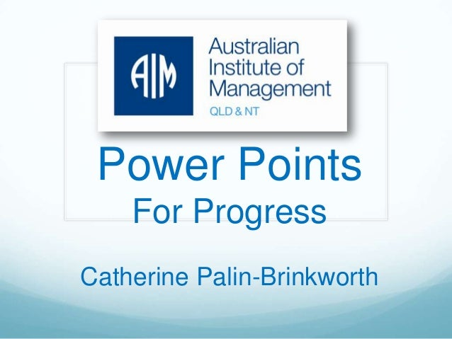 Power Points for Progress - your guide to leading your people effectively