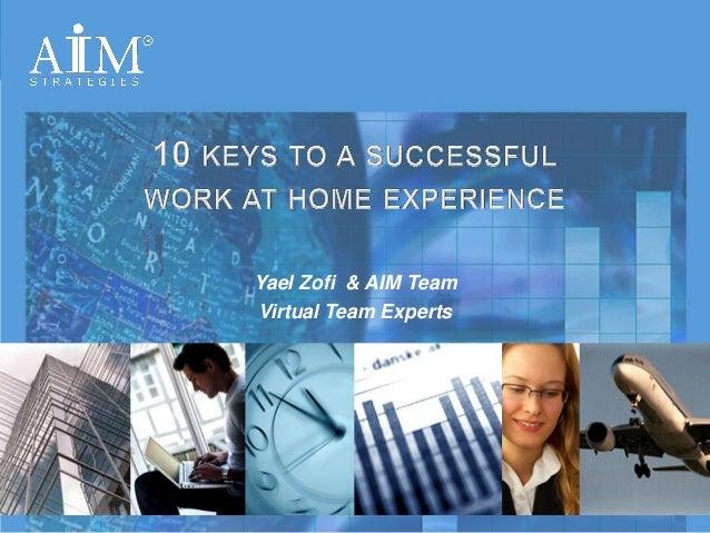 Yael Zofi & AIM Team                                                                  Virtual Team Experts                ...