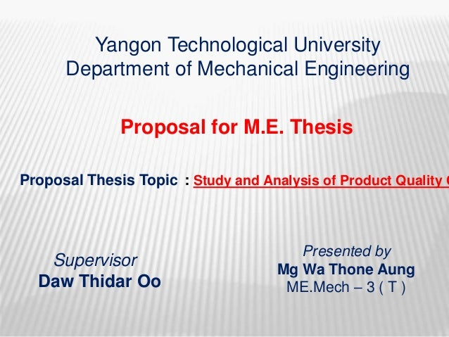 dissertation proposal presentation ppt line