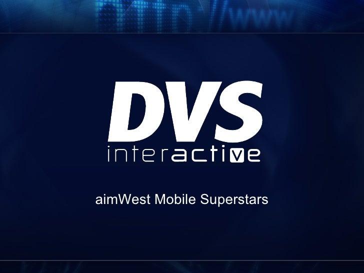 aimWest Mobile Superstars