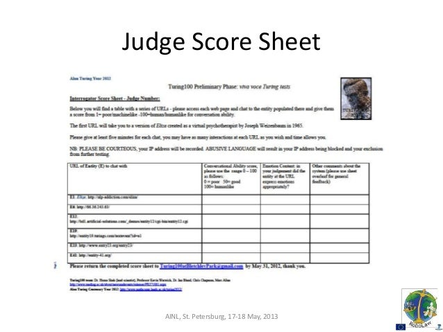 Sample Talent Show Score Sheet Sample Talent Show Score Sheet