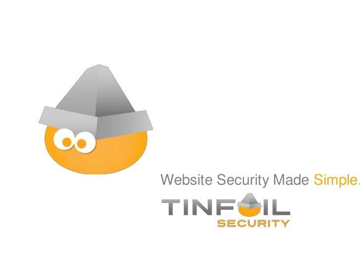 Website Security Made Simple.